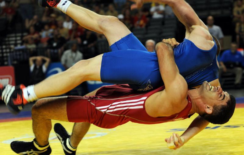 ВИДЕО! Все схватки Абдулрашида Садулаева на чемпионате мира в Лас-Вегасе